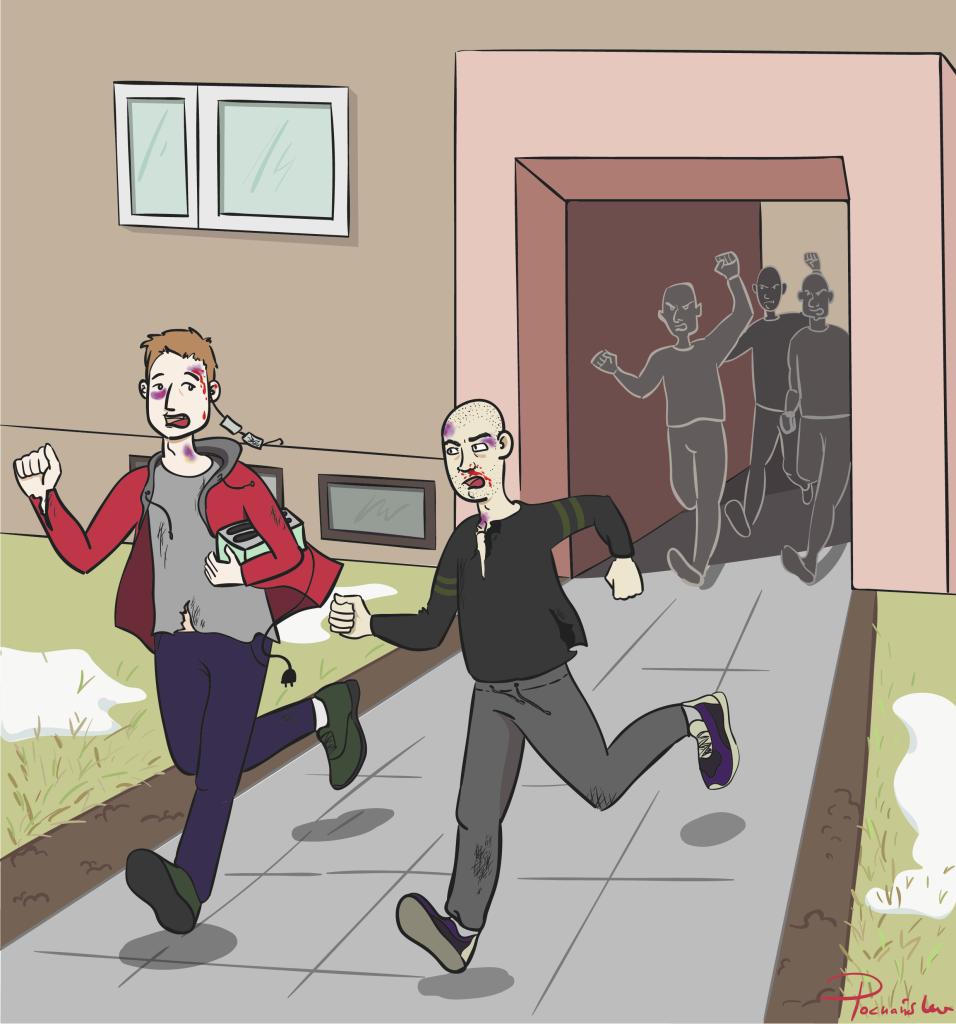 rgb scena ucieczki